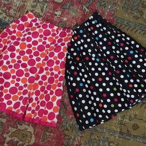 2 for one price!  Cato skirts size 8 EUC